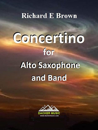 Concertino for Alto Saxophone and Band