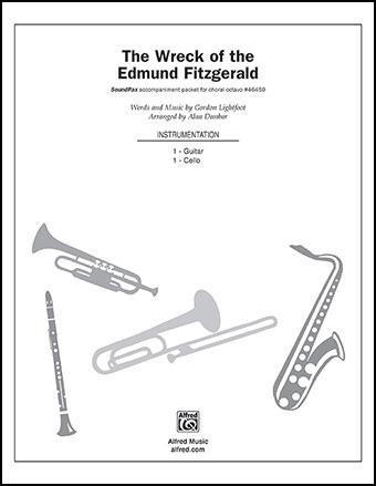 The Wreck Of Edmund Fitzgerald Instrumental Part Jw Pepper