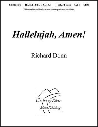 Hallelujah, Amen! (SATB)