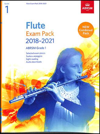 Flute Exam Pack, 2018 - 2021