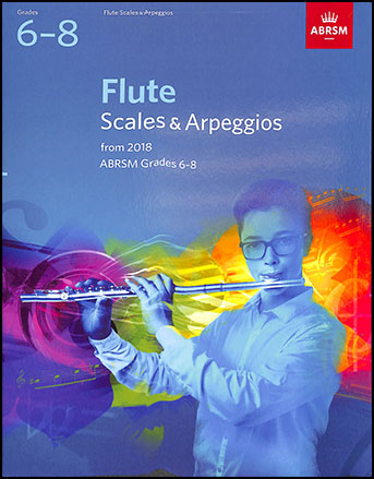 Flute Scales and Arpeggios, from 2018