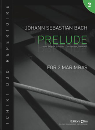 Prelude from English Suite #2, BWV 807