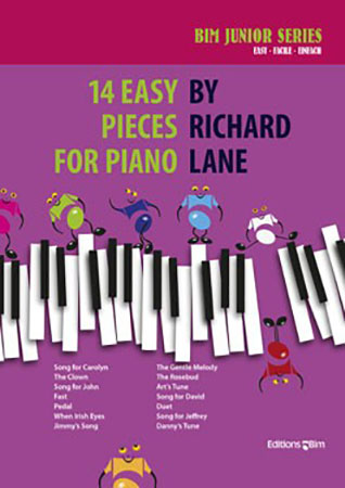 14 Easy Pieces for Piano Cover
