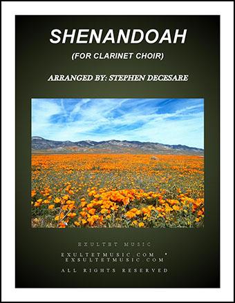 Shenandoah (for Clarinet Choir)