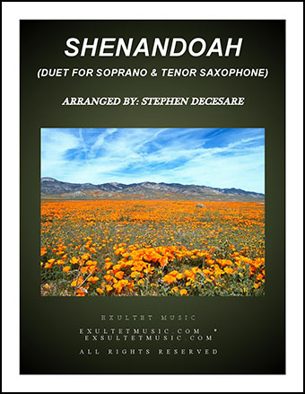 Shenandoah (Duet for Soprano and Tenor Saxophone)