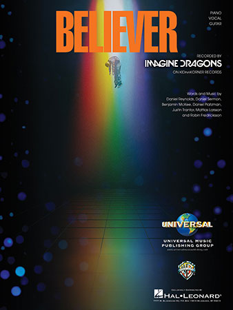 Believer vocal sheet music cover