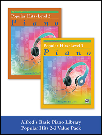Alfred's Basic Piano Library Popular Hits Vol.2 & 3