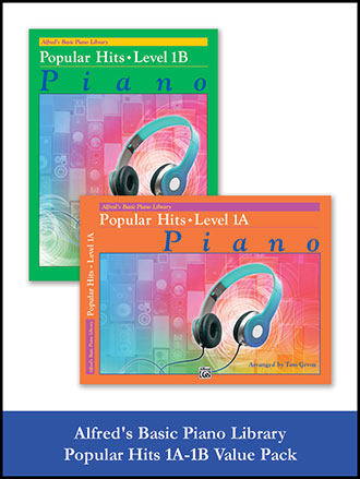 Alfred's Basic Piano Library Popular Hits Vol. 1A & 1B