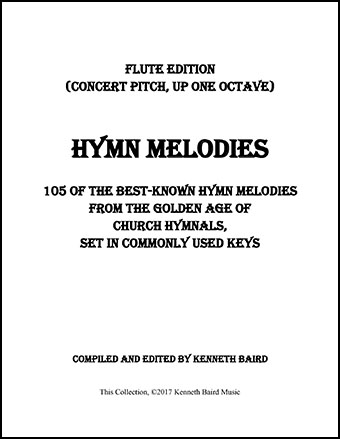 Hymn Melodies Flute Book By Various Jw Pepper Sheet Music