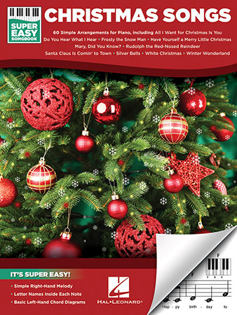 Super-Easy Songbook: Christmas Songs
