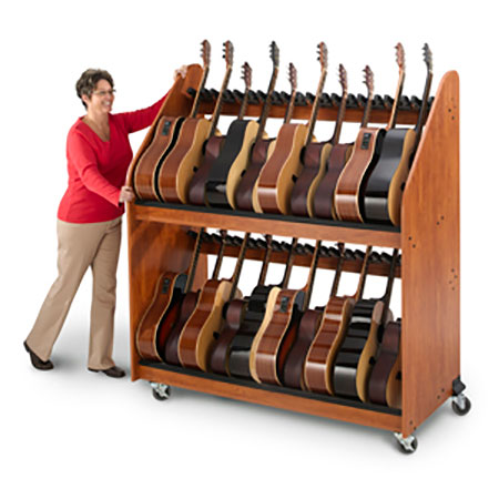 Guitar Mobile Storage Rack