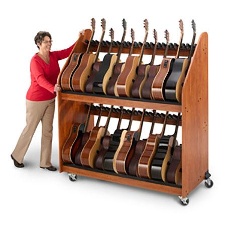 Guitar Mobile Storage Rack