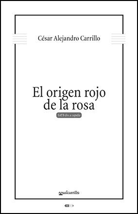 El origen rojo de la rosa