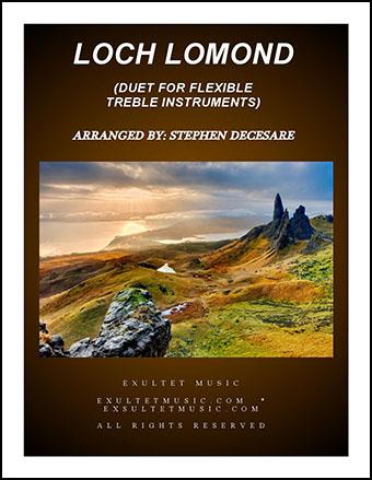 Loch Lomond (Duet for Flexible Treble Instrumentation)