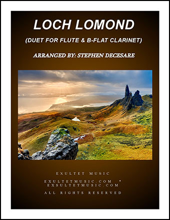 Loch Lomond (Duet for Flute and Bb-Clarinet)