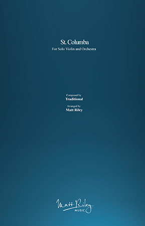 St. Columba myscore sheet music cover