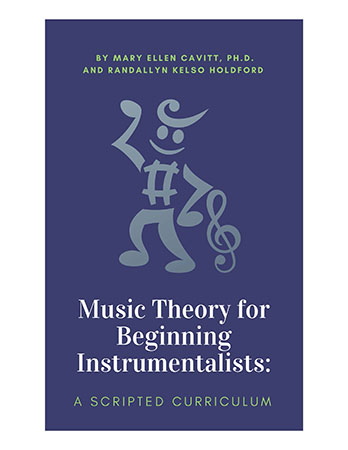 Music Theory for Beginning Instrumentalists: A Scripted Curriculum