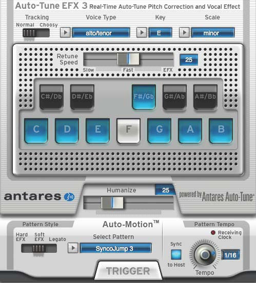 Antares Auto-Tune EFX3 Pitch Correction