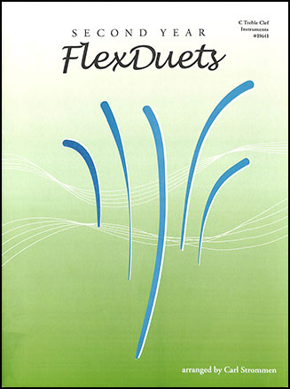 Second Year FlexDuets brass sheet music cover