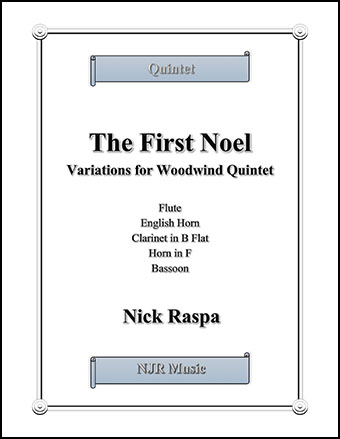 The First Noel (Variations for Woodwind Quintet)