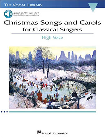 christmas songs and carols for classical singers cover - Classical Christmas Songs