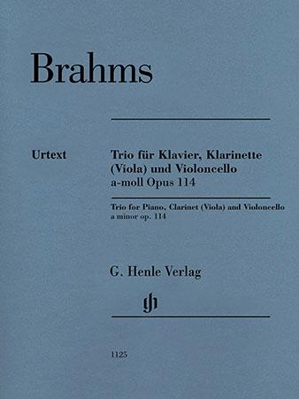 Clarinet Trio in A Minor, Op.114