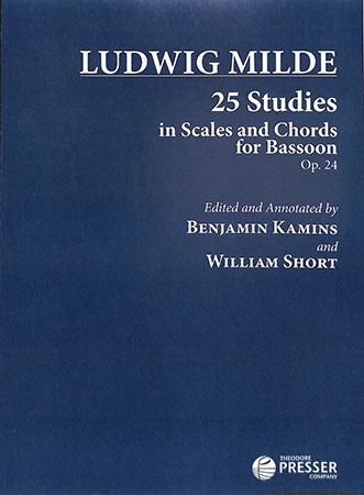 25 Studies in Scales and Chords for Bassoon, Op. 24