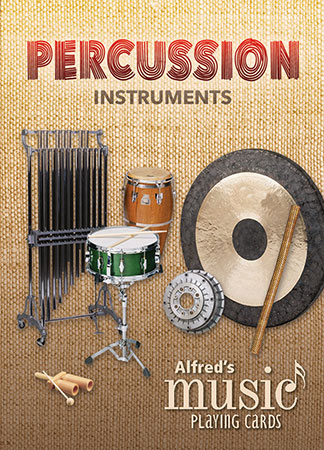 Alfred's Music Playing Cards : Percussion Instruments