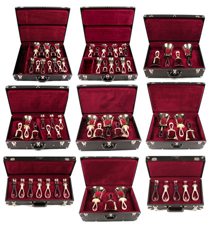 Malmark Handbell Set, 61 Note