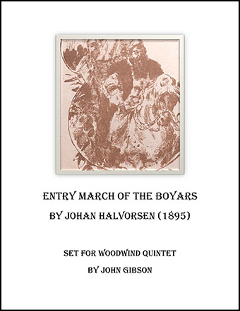 Boyar's March set for Woodwind Quintet