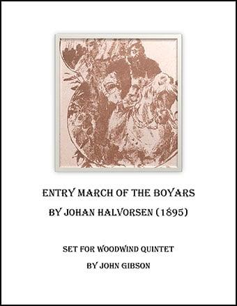 Boyar's March set for Woodwind Quintet