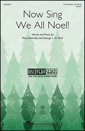 Now Sing We All Noel! choral sheet music cover