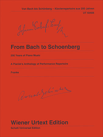 From Bach to Schoenberg