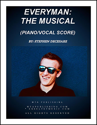 Everyman: the musical (Piano/Vocal Score)