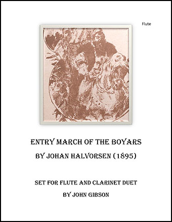 March of the Boyars - flute and clarinet duet