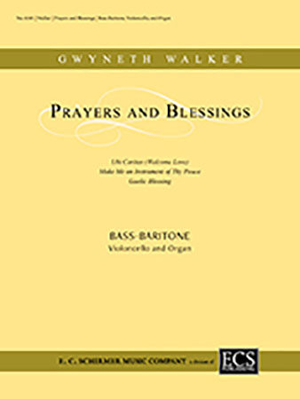 Prayers and Blessings Cover
