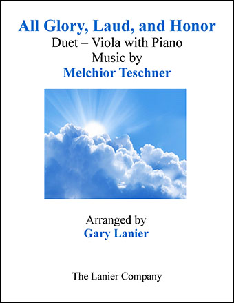 All Glory, Laud, and Honor (Duet Viola & Piano)