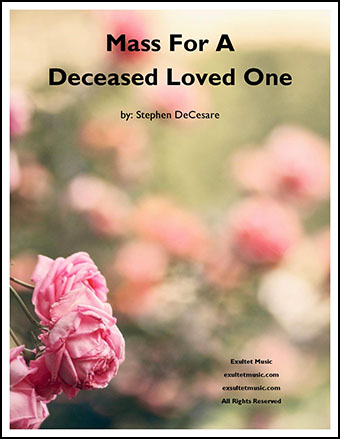 Mass For A Deceased Loved One