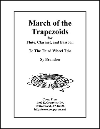 March of the Trapezoids for Woodwind Trio Thumbnail