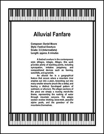 Alluvial Fanfare