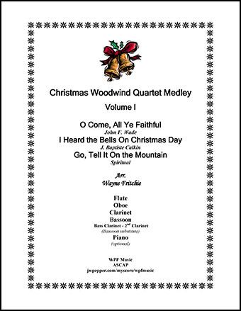Christmas Woodwind Quartet Medley #1