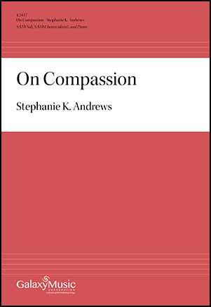On Compassion community sheet music cover