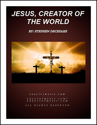 Jesus, Creator Of The World