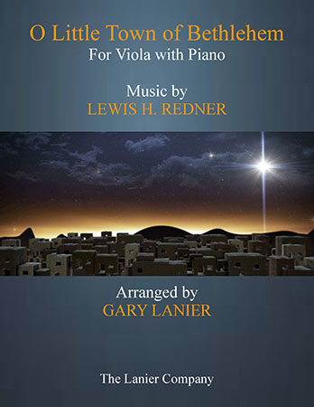 O Little Town of Bethlehem (Viola with Piano)