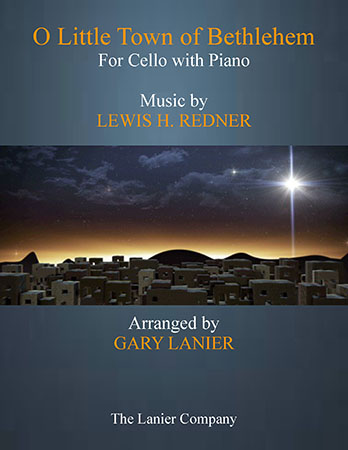 O Little Town of Bethlehem (Cello with Piano)