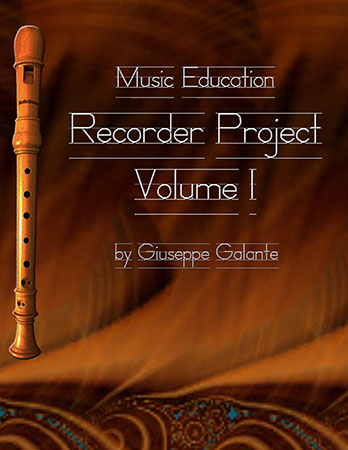 Music Education Recorder Project Volume 1