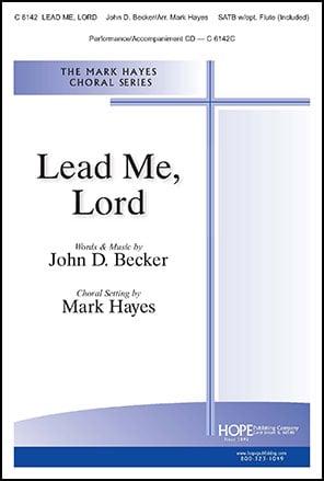 Lead Me, Lord church choir sheet music cover