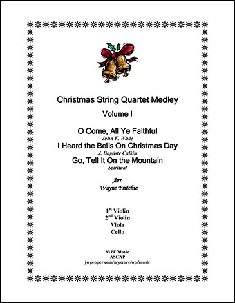 Christmas String Quartet Medley Volume I