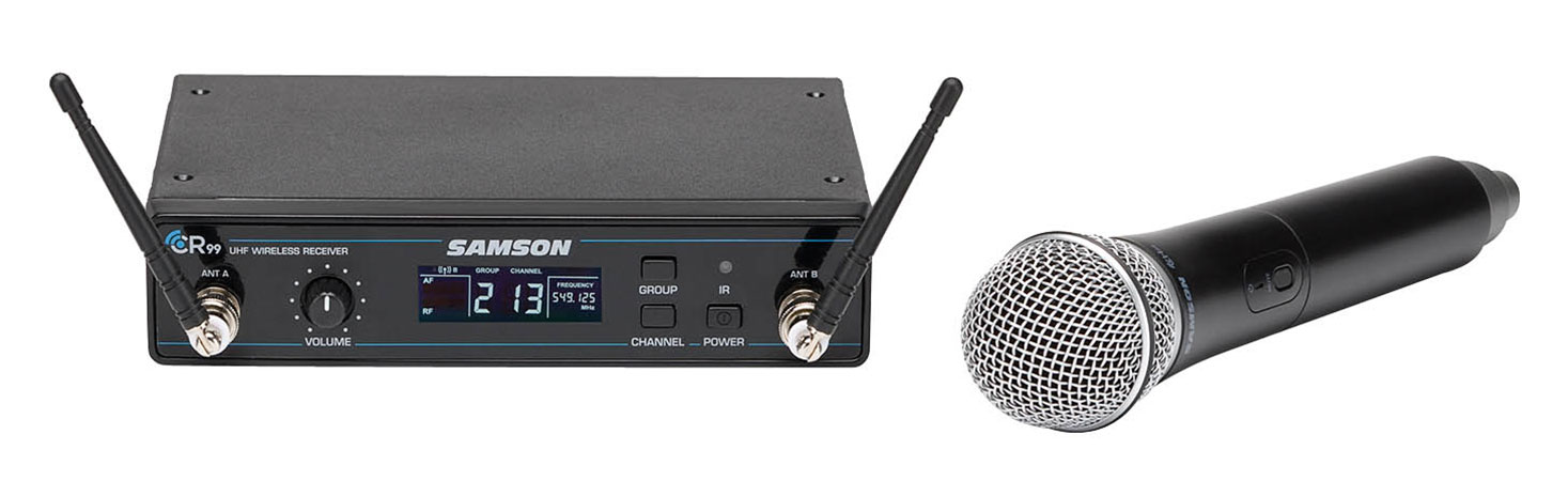 Concert 99 Handheld Wireless Mic System