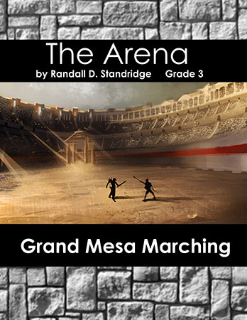 The Arena marching band show cover